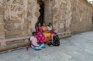 freundliche indische Familie