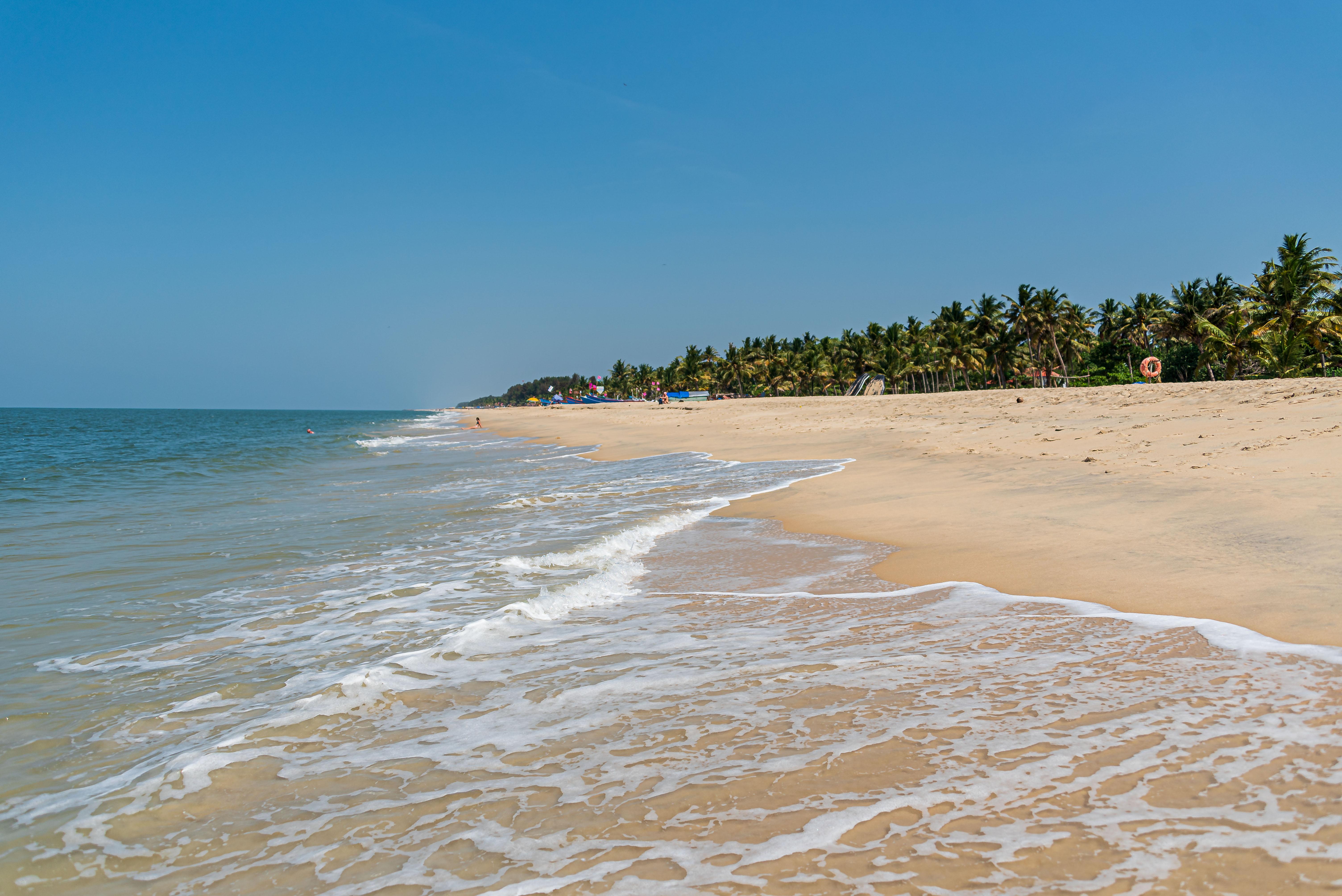 der Strand von Mamallapuram