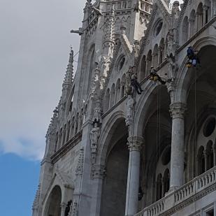 Arbeiten an der St.Stephans Basilika